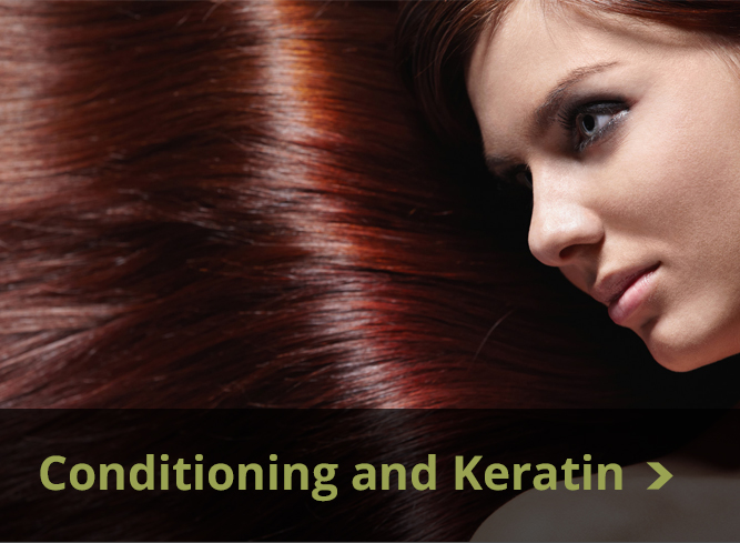 conditioning and keratin treatments